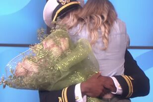 Ellen Surprised Super Fan With Her Navy Officer Boyfriend; Try Not To Cry!