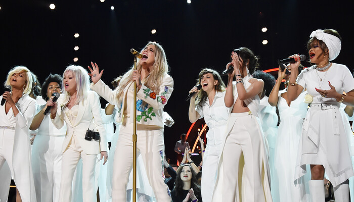 All the Women Who Performed With Kesha During Powerful Grammys Performance on Channel 933