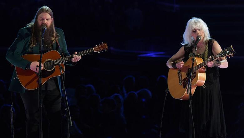 Chris Stapleton, Emmylou Harris Lead Tom Petty Tribute at Grammys