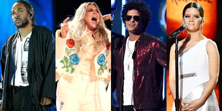2018 Grammys: Bruno Mars Wins Big, Kesha Reps For #MeToo & More Moments