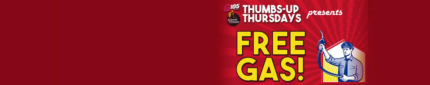 Free Gas in February from Planet Fitness and G105!