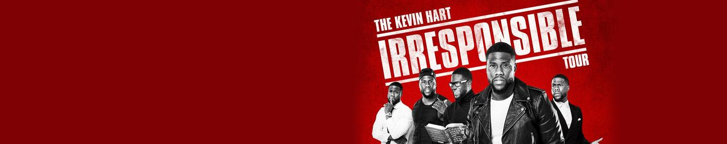The Kevin Hart Irresponsible Tour is stopping in Nashville!
