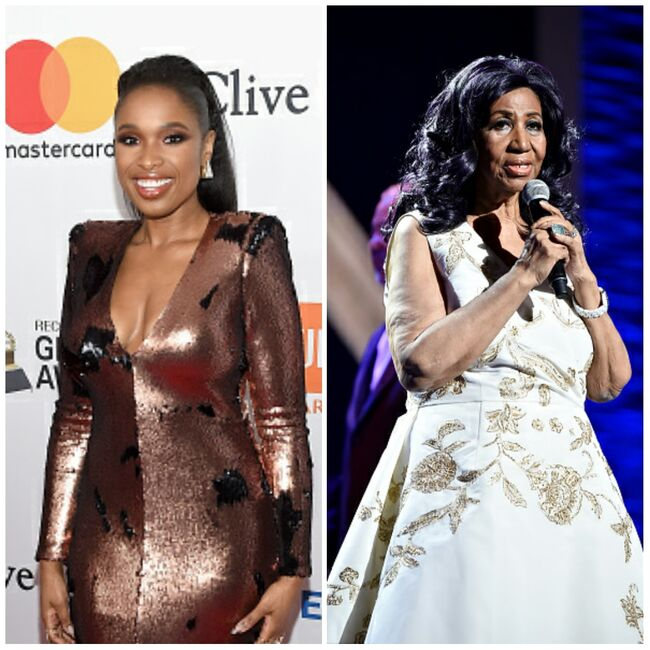 Jennifer Hudson and Aretha Franklin Grid - Getty Images