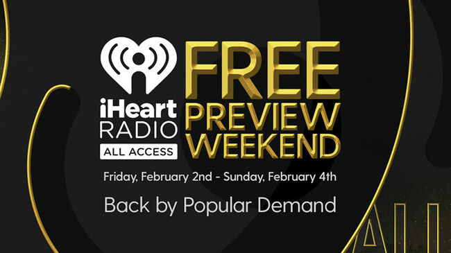 All Access Free Music Weekend