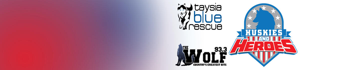 "Learn how you can save a veteran and a husky's life with Taysia Blue and ""Huskies and Heroes"""