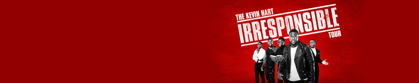 The Kevin Hart Irresponsible Tour | November 29 at Blaisdell Arena