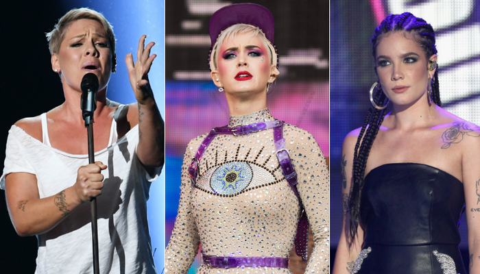 P!NK, Katy Perry, Halsey & More Blast Grammy Prez Over 'Step Up' Remark on Channel 933