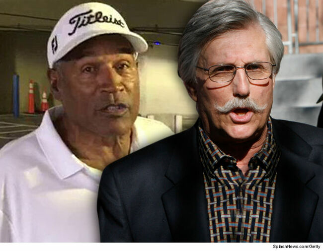 OJ Simpson and Fred Goldman.