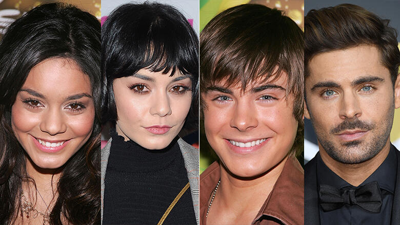 High School Musical Cast Before And After