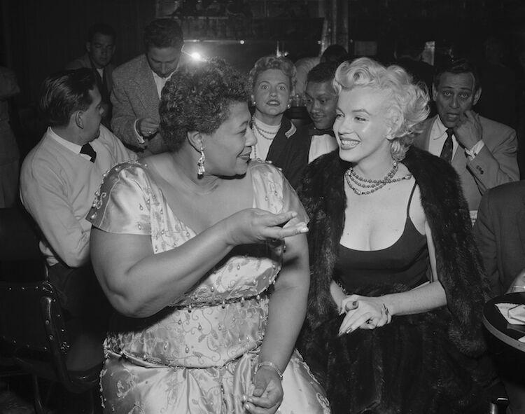 Ella Fitzgerald, Marilyn Monroe