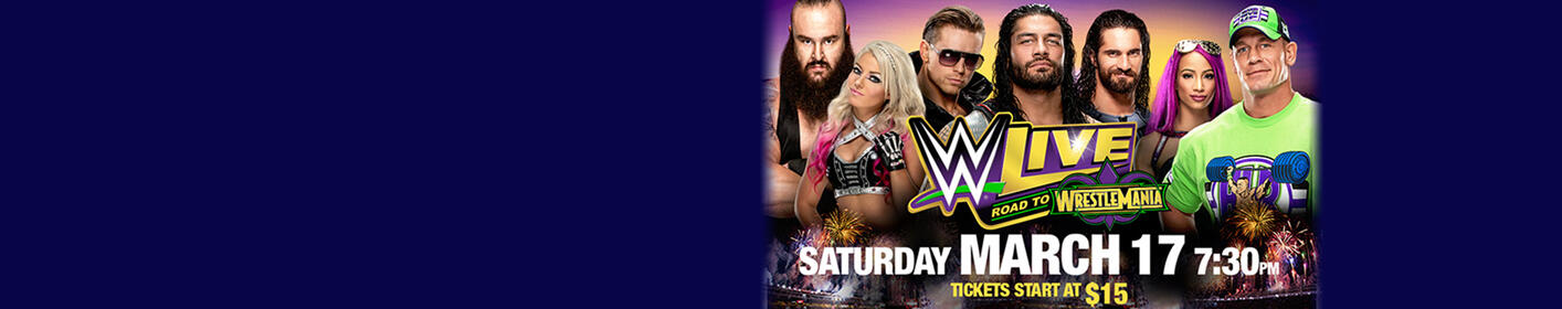 Enter To Win Tickets To See WWE!
