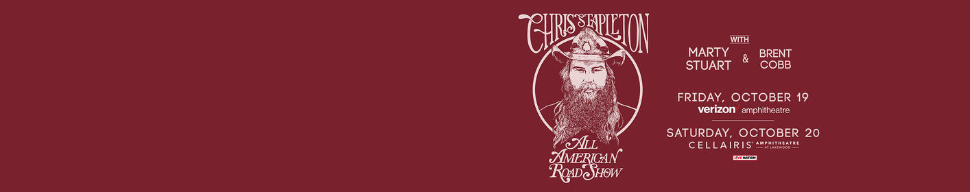 Chris Stapleton is coming back to Atlanta with two shows in October! Click here for your chance to win tickets AND pick your show!