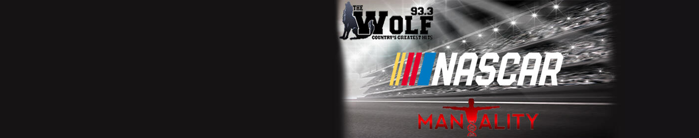 It's NASCAR season on 93.3 The Wolf sponsored by Mantality! Check out the schedule for the 2018 season!