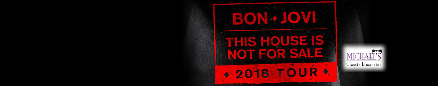 Text to Win Bon Jovi Tickets for YOU and 5 Friends with Limo Transportation!
