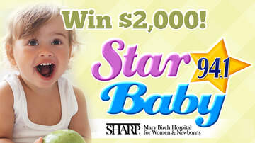 San Diego's Star Baby - San Diego's Star Baby Contest Awards $2,000 To Winning Baby