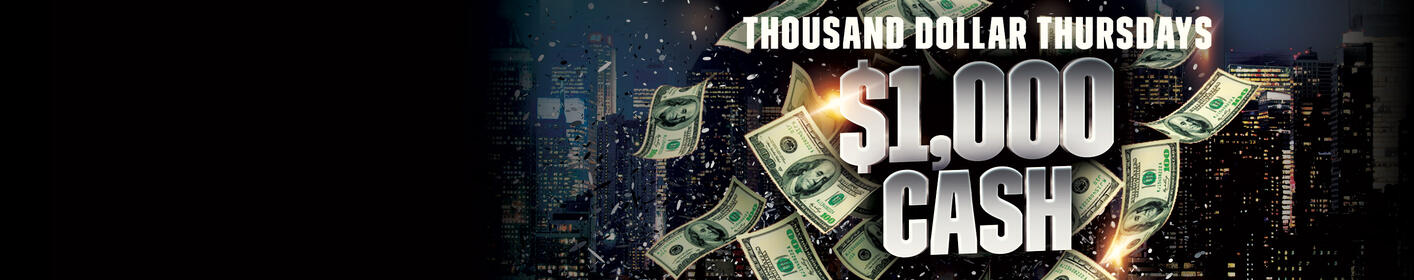 We're Giving You $1,000 CASH Every Thursday