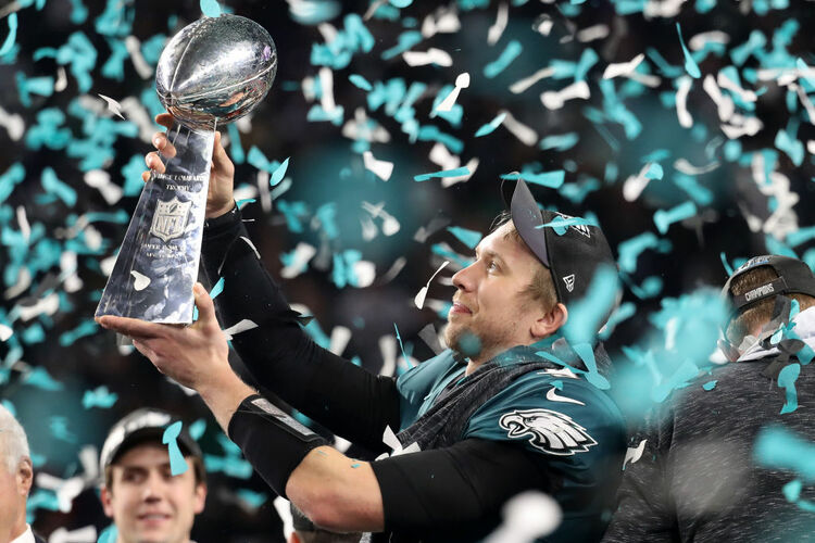 Nick Foles - Getty Images