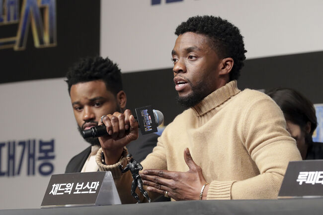 Chadwick Boseman and Ryan Coogler