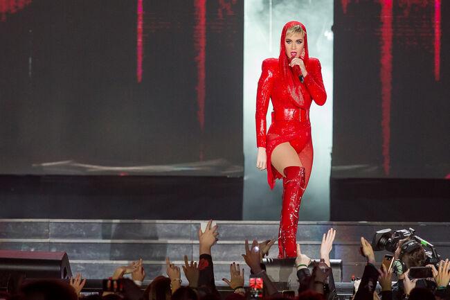 Katy Perry at the Tacoma Dome