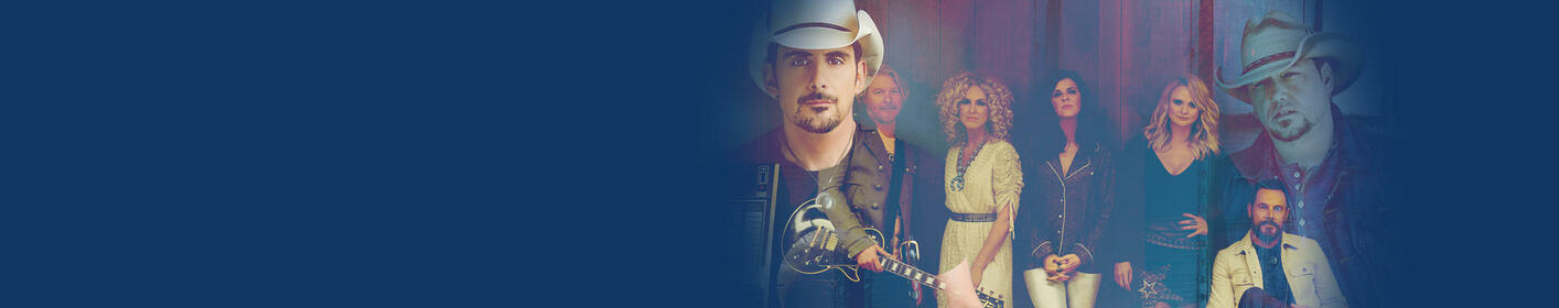 Win tickets to see Jason Aldean, Brad Paisley and more with the Country Megaticket!