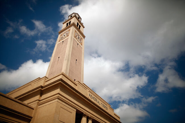LSU Memorial Tower Getty