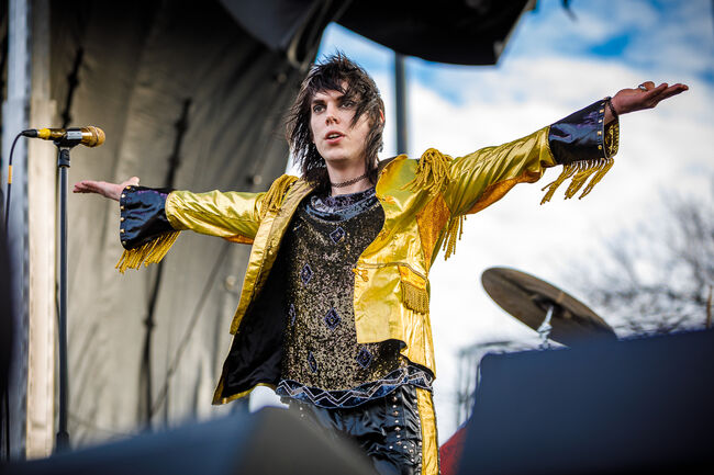 The Struts Live On Stage at Winter Jawn 2018