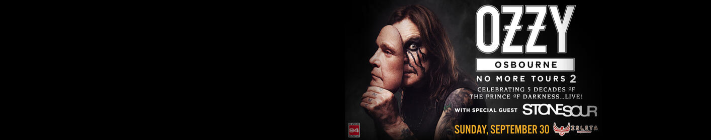 94 Rock Presents: Ozzy Osbourne!