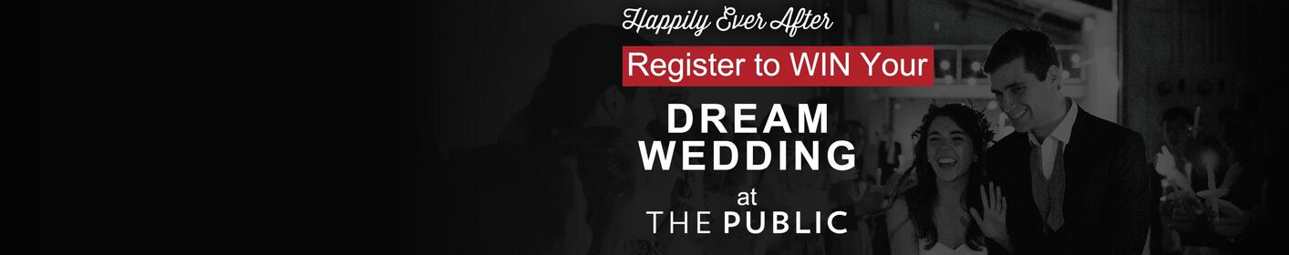 100.3 Kiss FM and The Public at Morehead Foundry want to make your wedding dreams come true!   Click for details!