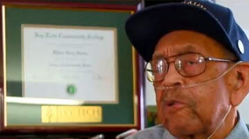 Black History Month - Pearl Harbor Survivor Awarded Honorary College Degree