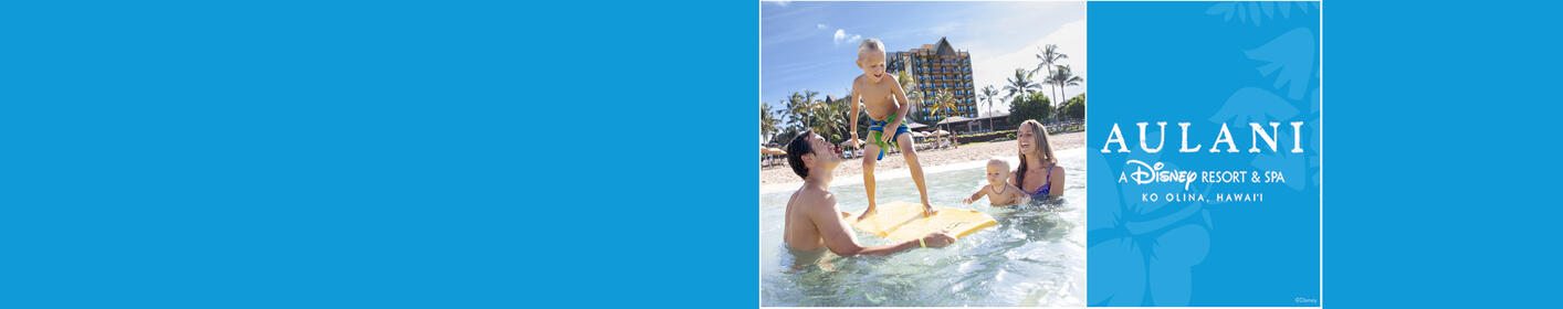 Win A Legendary Vacation To Aulani Resort!
