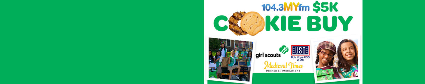 Vote for your troop & Valentine In The Morning could buy $5,000 in cookies from you!