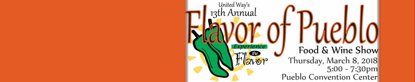 Join Us For The 13th Annual Flavor Of Pueblo Food & Wine Show!