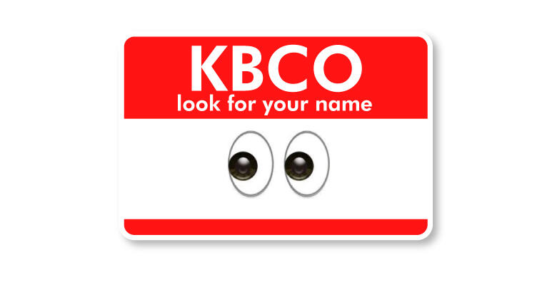 Kbco look for your name iheartradio for Kbco