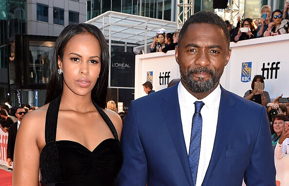 Idris Elba and Sabrina Dhowre - Getty Images