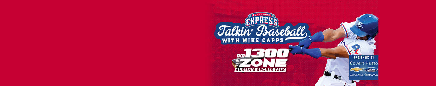 Listen To Talkin' Baseball with Mike Capps Every Monday at 7p