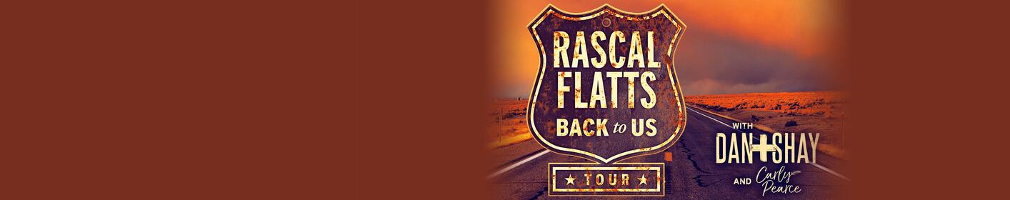 Rascal Flatts Back to Us Tour is Coming to Coastal Credit Music Park!
