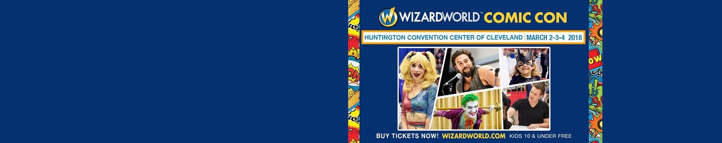 Win a VIP Promo Pack to Wizard World Comic Con!
