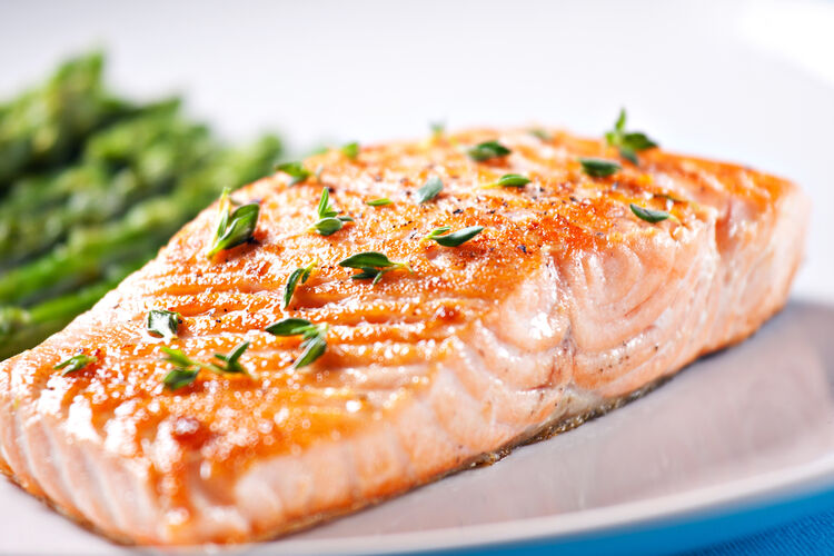 Salmon Filet Getty RF