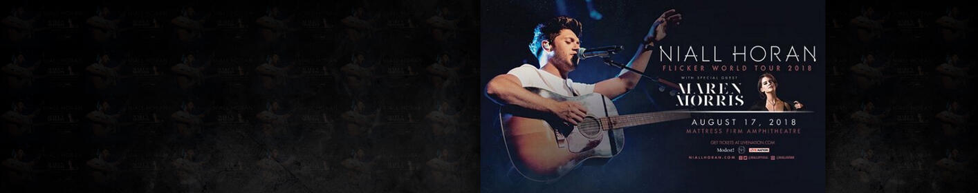 Win Tickets to Niall Horan at Mattress Firm Amphitheatre on August 17