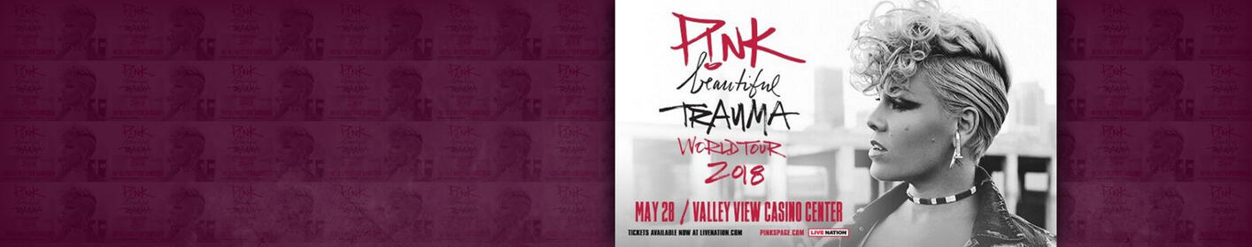 Win Tickets to P!nk at Valley View Casino Center on May 28