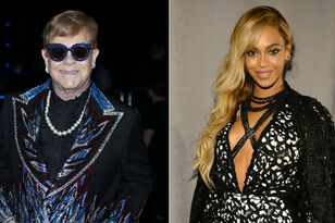 Elton John In Talks To Record New Song With Beyonce For 'Lion King' Remake