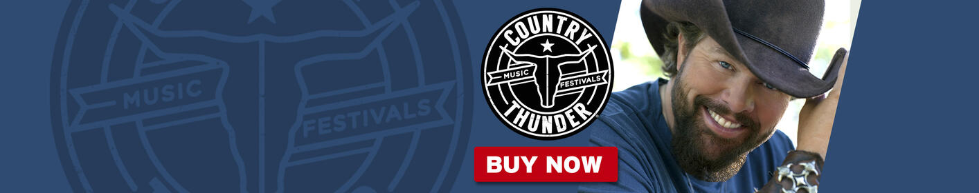 GET TICKETS: Country Thunder - July 20-23