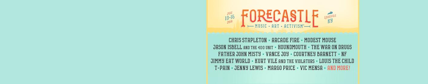 Win tickets to the FORECASTLE Festival!