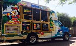 Amanda Flores - Grapevine Rec Center has free Kona Ice at noon!
