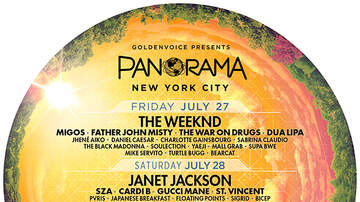 Weekends - We're Hooking You Up With Tickets To Panorama On Randall's Island
