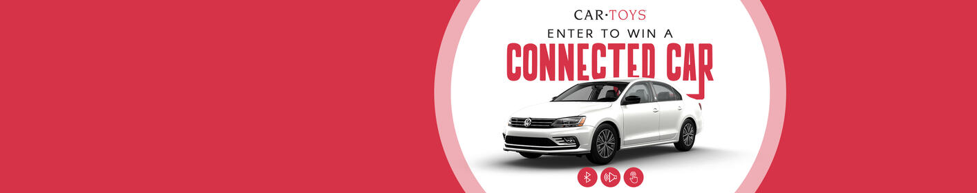 Enter For Your Chance To Win A Car Toys Connected VW Jetta!