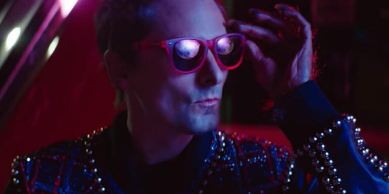 "Muse Debuts New Song ""Thought Contagion"" & '80s Inspired Music Video"