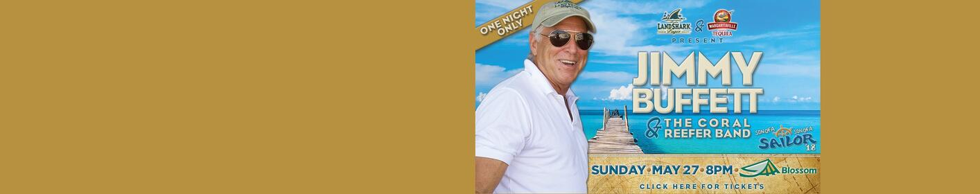 Win tickets to see Jimmy Buffett and The Coral Reefer Band!