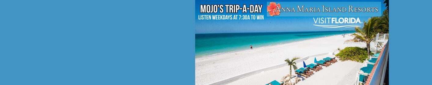 Head to Anna Maria Island with Mojo's Trip a Day