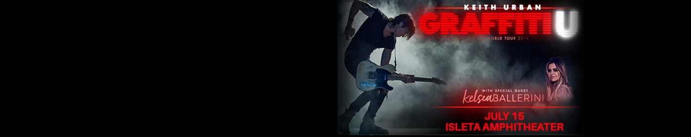 Keith Urban is coming to ABQ!
